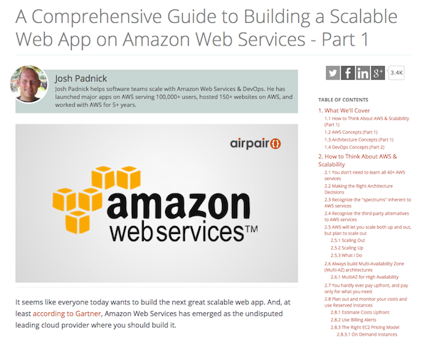 A Comprehensive Guide to Building a Scalable Web App on Amazon Web Services